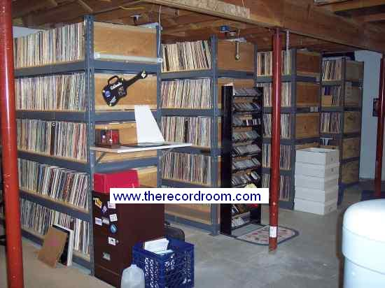 a large record collection